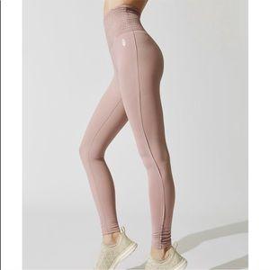 Free People Pink Pants Leggings